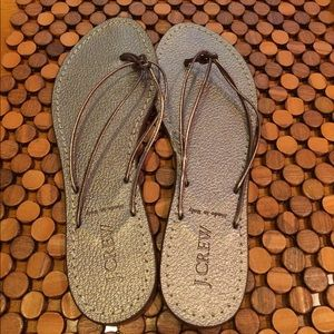 J. Crew Shoes - J Crew Italian Leather Sandal- NWT size 8