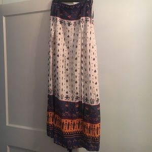 Oasap Dresses & Skirts - *tags attached* Oasap boho maxi skirt - size L