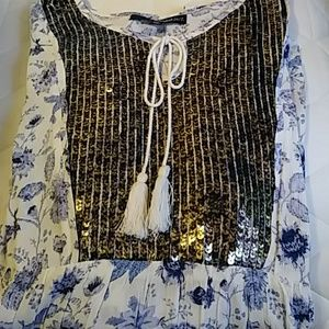 Tops - Sequin Embellished Tunic