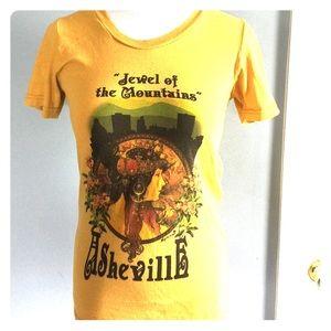 Asheville graphic Boho Tshirt