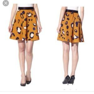 3.1 Phillip Lim for Target Dresses & Skirts - Phillip Lim for Target blue and gold cheetah skirt