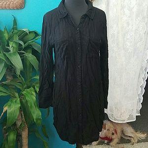 Rails Dresses & Skirts - Rails Sawyer button down dress black large