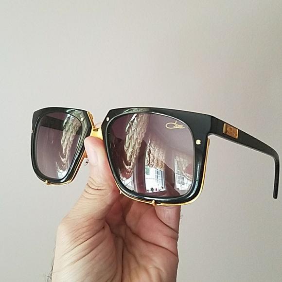 818b62709553 Cazal Accessories - CAZAL Legends MOD 643 3 Black Gold Sunglasses