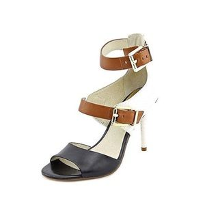 Michael Kors Adriana Ankle Strap Leather Sandals