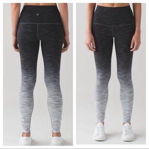 lululemon athletica Pants - Lululemon Wunder Under Pant ombré grey hi rise