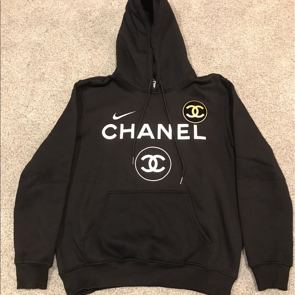 Nike colab coco Chanel hoodie. M 5921cbea6a5830ee3000b3a8. Other Shirts ... 6d23dead785