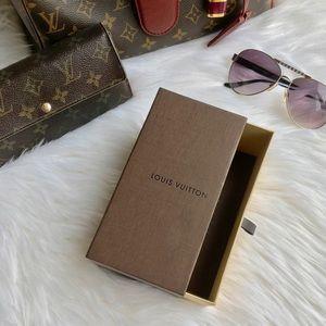 Louis Vuitton SUNGLASS BOX ( BOX ONLY)