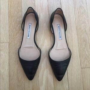 Manolo Blahnik Shoes - **REDUCED** Manolo Blahnik D'Orsay Flats