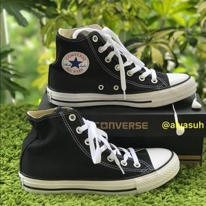 Converse Shoes - Converse All Star Black, size 7,5W/5,5M