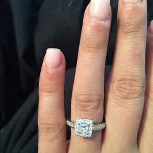 Kay Jewelers Jewelry - A gorgeous princess cut diamond ring.