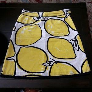 Odille Dresses & Skirts - Lemon print summer skirt