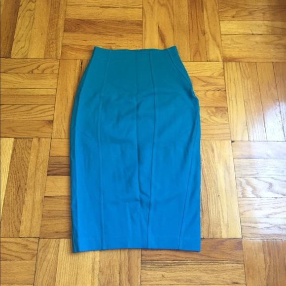 67 express dresses skirts stretchy bright blue