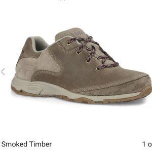 Ahnu Shoes - NEW AHNU SUGAR VENTURE LACE. Smoked timber