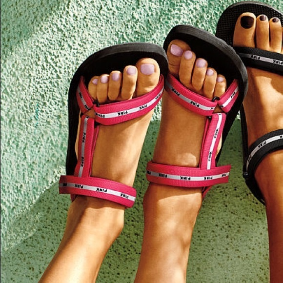 Sale Victorias Secret Pink Velcro