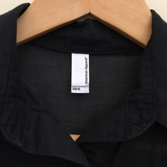 American apparel american apparel sheer sleeveless for American apparel mesh shirt