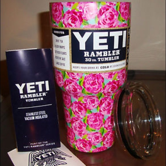 14 Off Lilly Pulitzer Other Lilly Pulitzer Yeti Flower Yeti Flowers Yeti 30oz From Stacy S