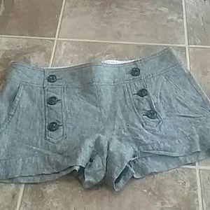 Stoosh Pants - Cute Button  Shorts Size 3