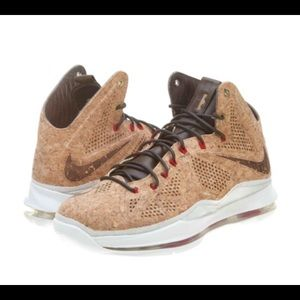 Nike Other - RARE LeBron EXT Cork QS Nike Shoes 11
