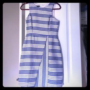Classy A-Line periwinkle dress