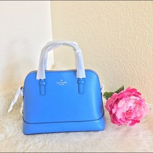 Kate Spade Small Rachel Grand Street Blue Hand Bag