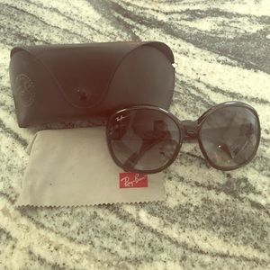 Ray-Ban Accessories - Ray Ban Jackie Ohh II Black Sunglasses