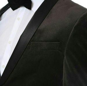 Ferrecci Other - Ferrec I Enzo Tuxedo blazer gray one button jacket