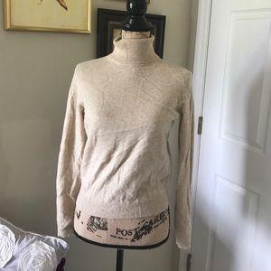 Valerie Stevens Sweaters - Valerie Stevens 2-ply cashmere turtle neck sweater