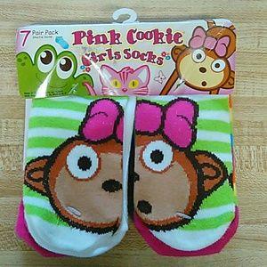 Pink Cookie Other - NWT pink cookie socks!