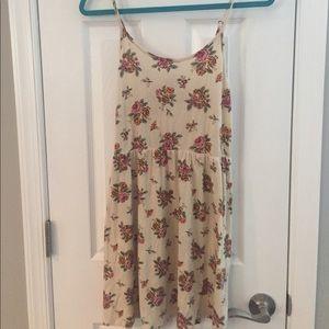 Spaghetti strap floral dress