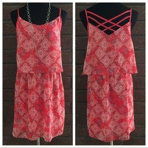 No Boundaries Dresses & Skirts - 🆕🎁 Colorful Criss Cross Dress