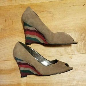 Spiegel Shoes - Vintage Spiegel Wedges