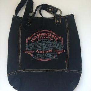 Levi's Handbags - Levi Strauss &Co. Dark Wash Tote