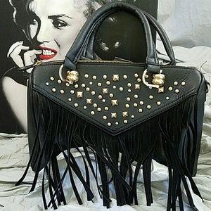 Black Rivet Handbags - Black Rivet Purse