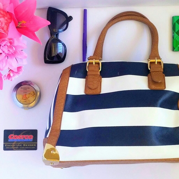 4f1c69badcd9  Sale  Aldo Nodical Navy Striped Bag