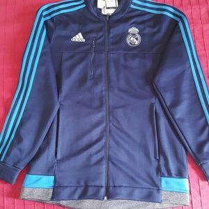 Real Madrid blue jacket