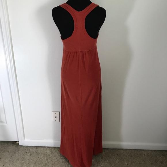James Perse Dresses - Standard James Perse Rusty Red Orange Maxi Dress