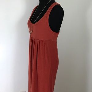 James Perse Dresses - Standard James Perse Rusty Red Orange Maxi Dress