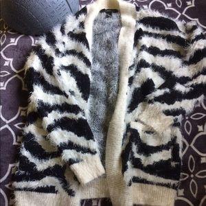 Fuzzy Cardigan 😍