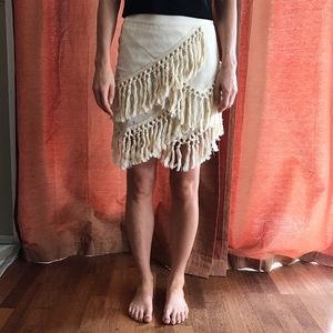 Endless Rose Dresses & Skirts - Layered Skirt with Tassels