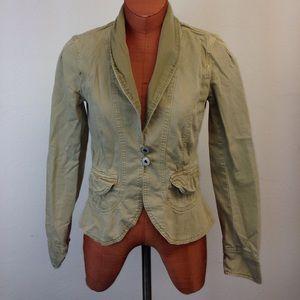 Anthropologie Jackets & Blazers - 🔥Sale Sanctuary Anthropologie Khaki fitted jacket