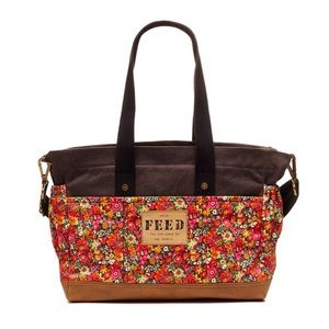 FEED Liberty of London Diaper Bag from Giggle