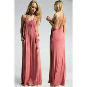 Dresses & Skirts - ****SOLD OUT!**** Jersey T Strap Maxi Dress