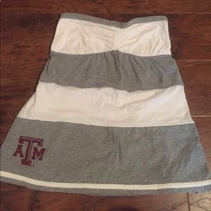 Soffe Tops - Strapless shirt / tube top With Texas A&M Logo