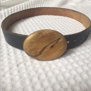 Vintage leather belt.