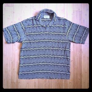Gran Sasso Other - Gran Sasso Men's Short Sleeves Silk Shirt