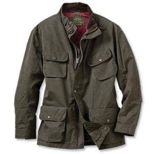 Orvis Other - Orvis CFO Waxed Moto Jacket Size XL