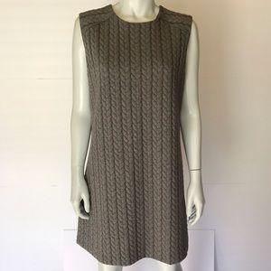 Cynthia Rowley Dresses & Skirts - {cynthia rowley} gray lined sweater dress