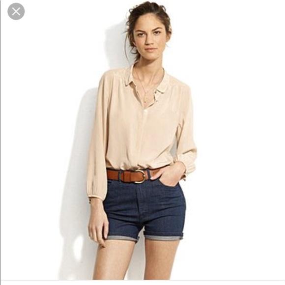 1d8065c64aef87 Madewell Tops - Alexa Chung for Madewell silk blouse XS