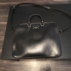 Kate Spade leather laptop bag