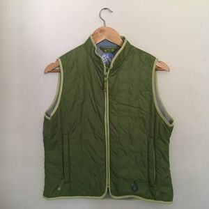 Isis Jackets & Blazers - Isis for Women Green Puffer Vest